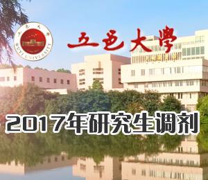 2017年五邑大学硕士研究生调剂信息